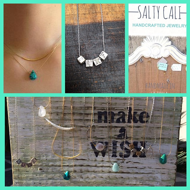 Instagram - How cute are these necklaces from Salty Cali? They make perfect gift