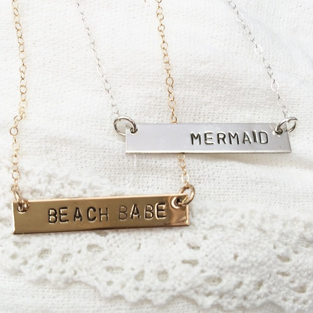 Instagram - How stinkin' cute are these new necklaces we just got in?! Sterling