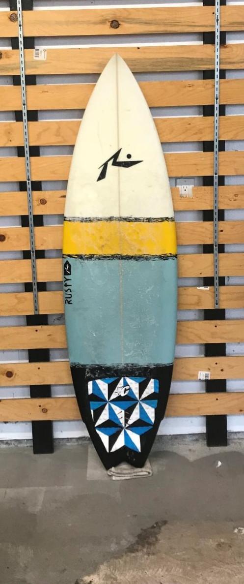 Shredding Hippie Surfboards