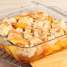 Peach Cobbler - By Laura Bracken Previous owner of our Orchard