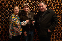 Nancy Silverton, Mike Duffy, and Emeril Lagasse