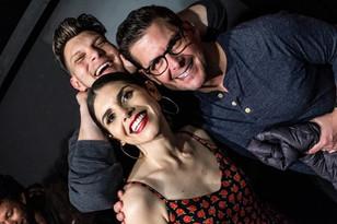 Justin Martindale, Justine Marino and Mike Duffy