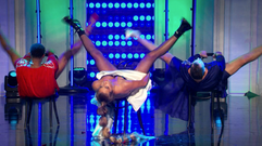 Becky Robinson on The Funny Dance Show