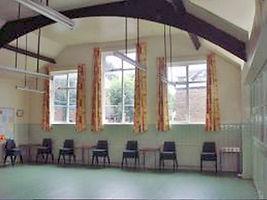Main Hall - green room