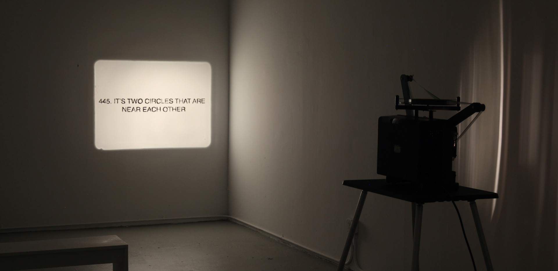Active Image O, installation view
