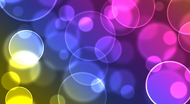 Abstract colourful bubbles. Holiday soft