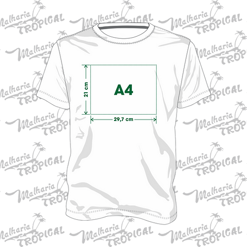 Camiseta Personalizada DTG