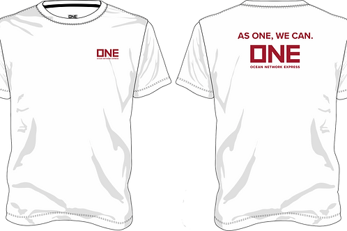 "Camiseta ONE - ""AS ONE WE CAN"""