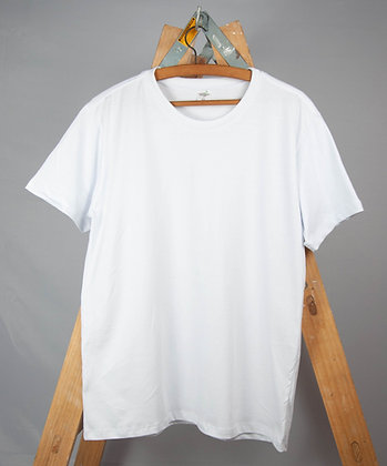 Camiseta Básica Unissex Manga Curta   Regular Fit