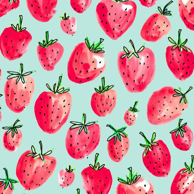 Strawberry Toss