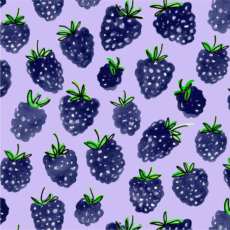 blackberry toss
