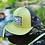 Thumbnail: lo-fli Olive Green & Black Trucker Cap