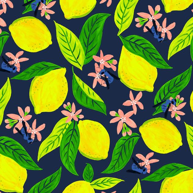 Lemons & Orchard Bees