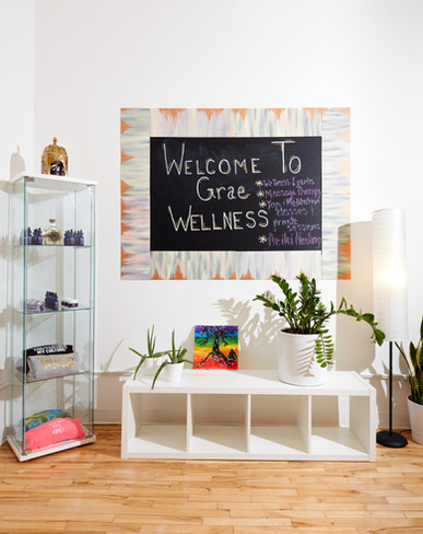 Grae Wellness Entryway