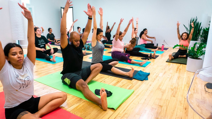Grae Wellness Yoga Class
