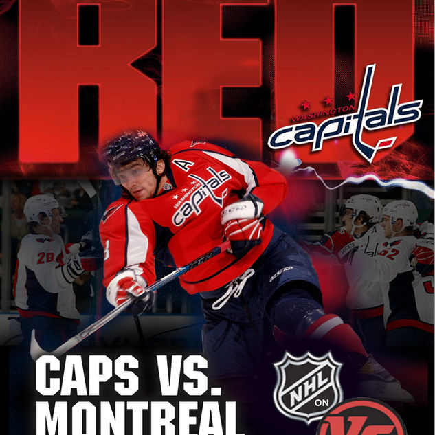 Washington Capitals Event Poster