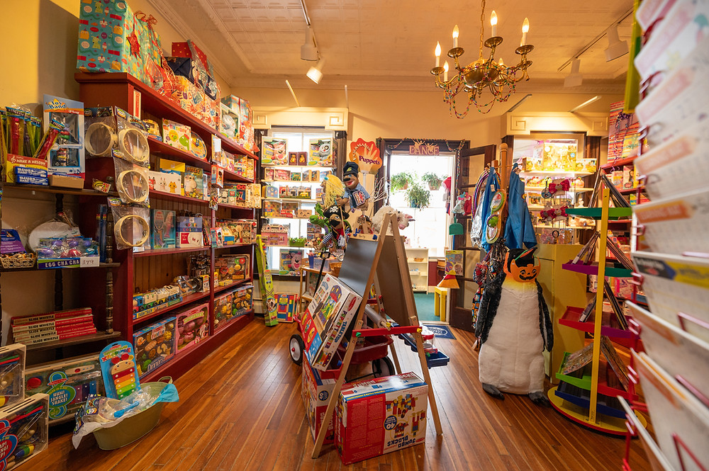 toy store in waterbury Vermont