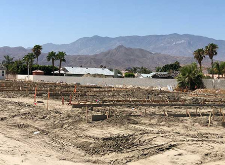 Breaking ground on phase 1B at Cathedral City 25!