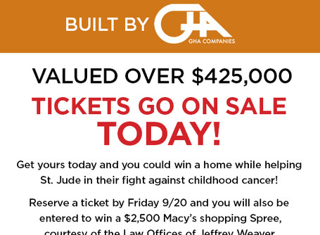 Win a home while helping St. Jude