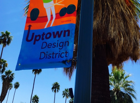 Icon keeps good company with Uptown Design District.