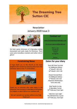 Newsletter Issue 3 Jan 2020