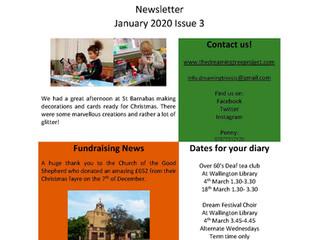 Newsletter Issue 3 Jan 2020