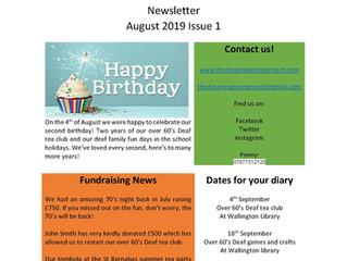 August 2019 News Letter