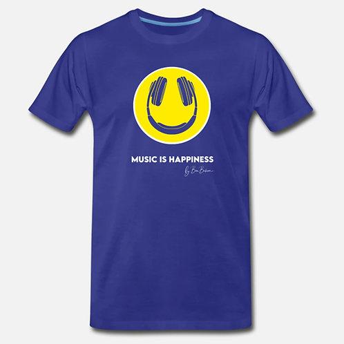 Music Is Happiness Premium T-Shirt