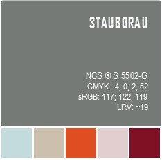 STAUBGRAU | Средне-серый