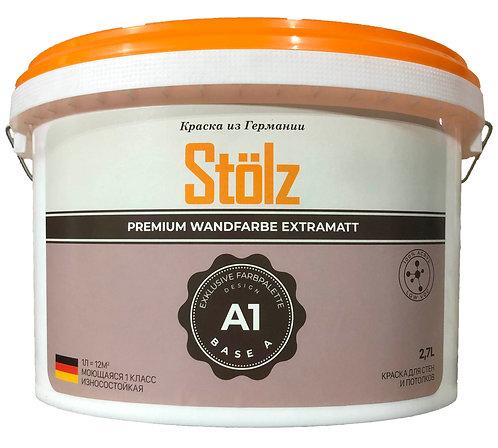 Stölz A1. Абсолютно матовая краска для стен и потолков