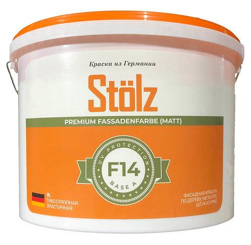 Stölz F14+. Универсальная краска по дереву, бетону, металлу