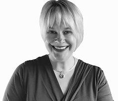 Black & white photo of Jill