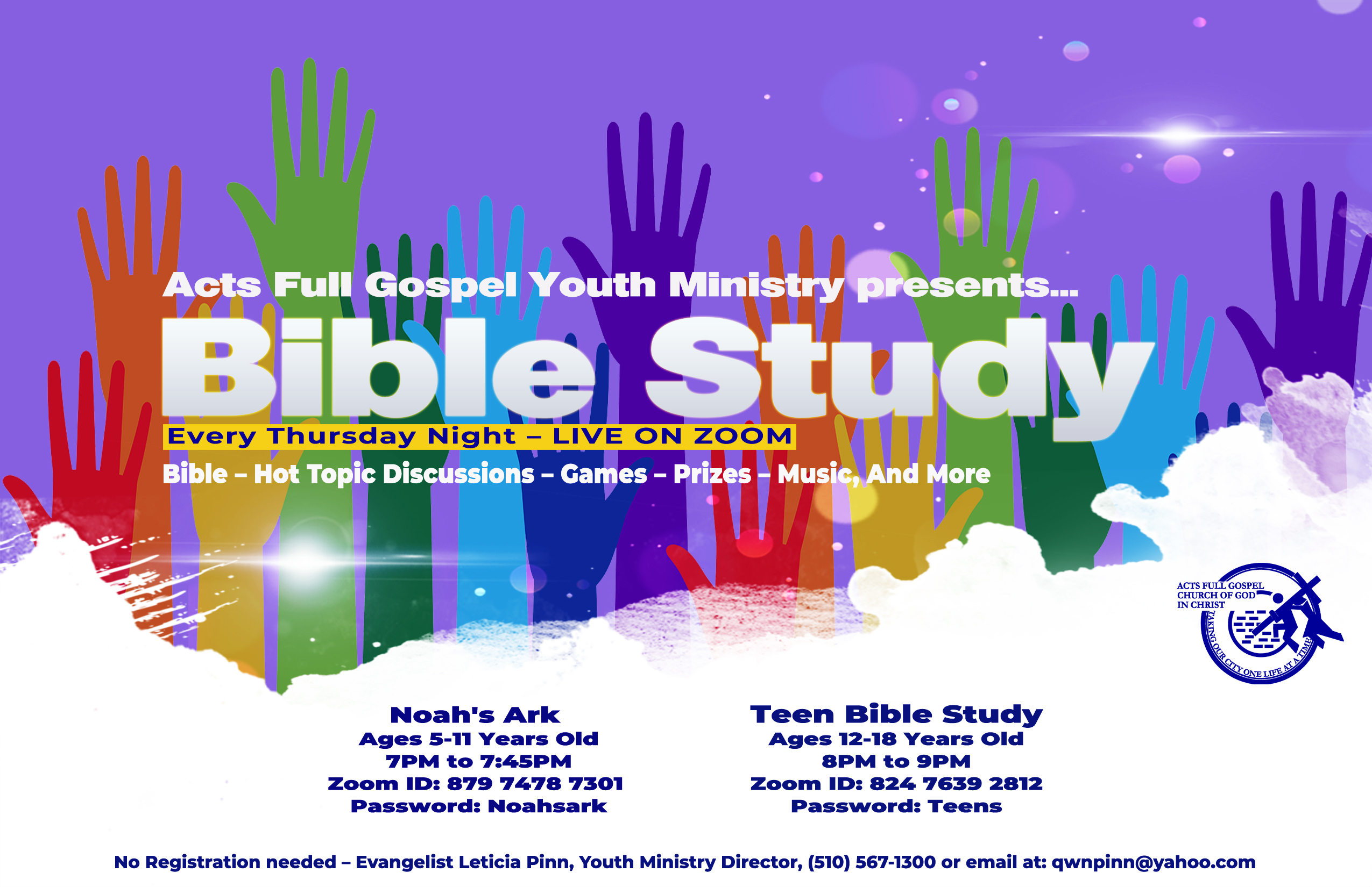 Children & Teen Ministry Bible Study Fly