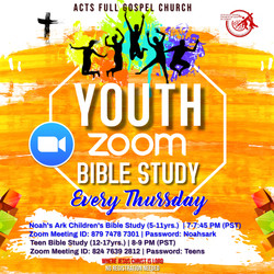 Youth Bible Study Flyer instagram size