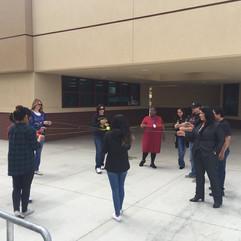 Focus Ring Activity: Creekside Junior High School - Los Banos, CA