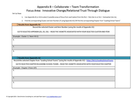 The Fuel of Teams: Collaborate – 3 Easy Steps