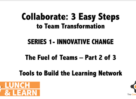 The Fuel of Teams: Collaborate - 3 Easy Steps (Part 2 of 3)