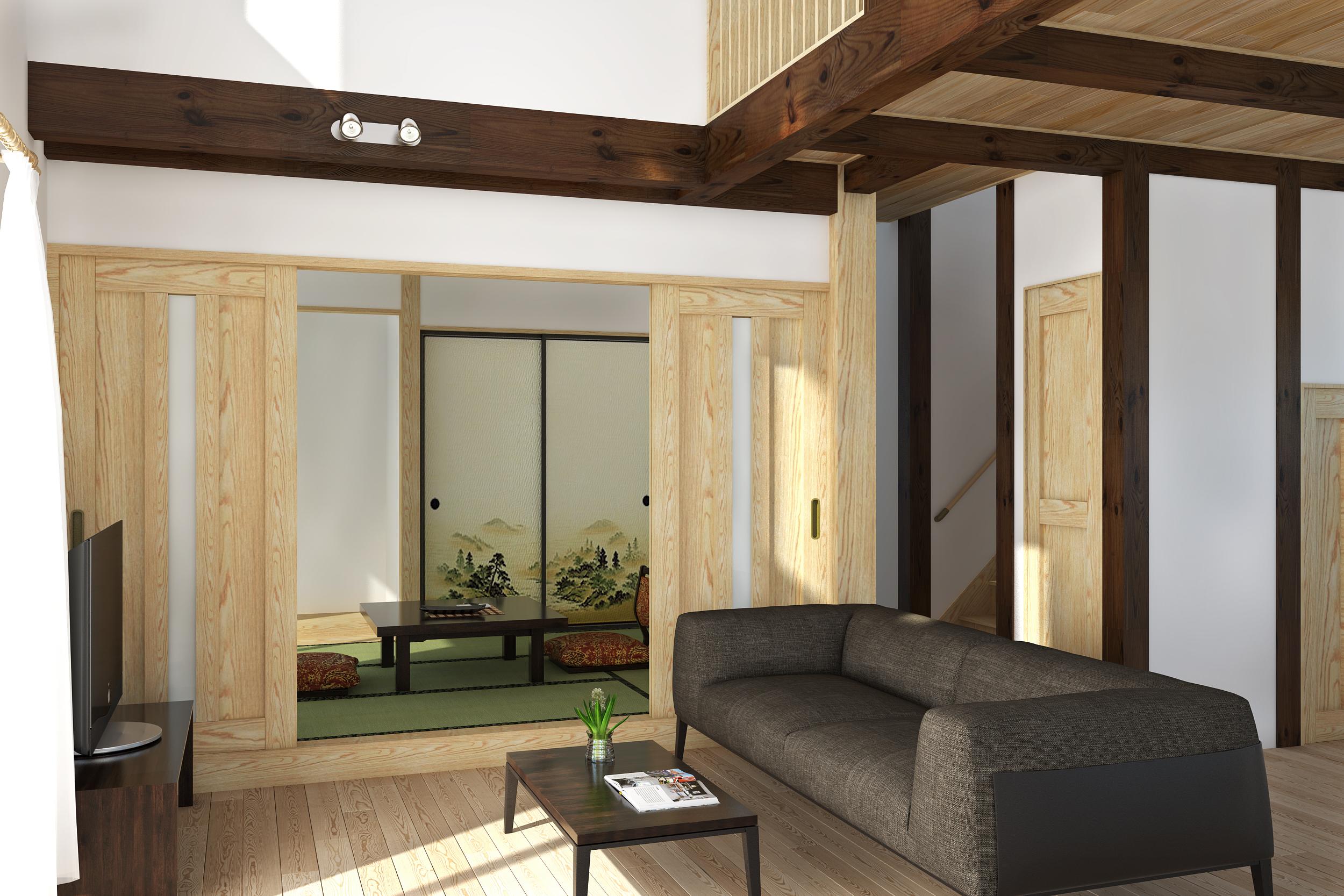 趣があり暮らしやすい家【内観①】