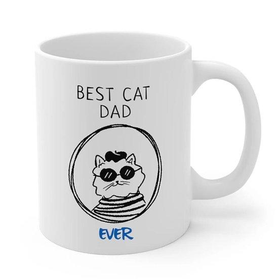Best Cat Dad Ever Mug