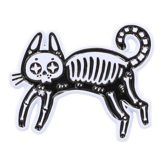 Skeleton Cat / Kitty Pin