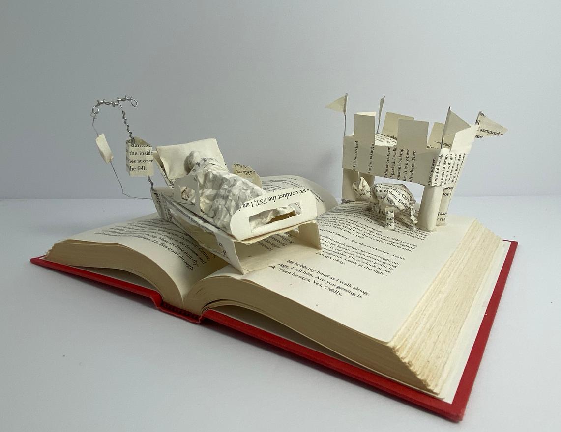41 - Come Thou Tortoise - Book Sculpture - 2020