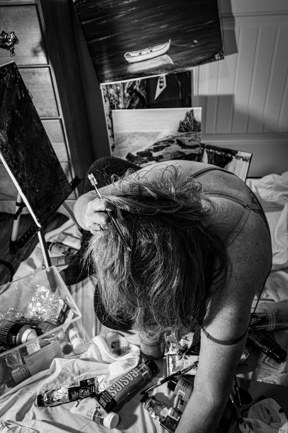 01 - Creative Angst - B&W Photography - 2020