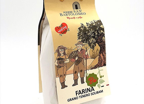 Organic Solibam soft wheat flour