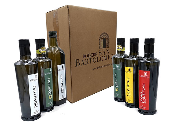 Tasting box - The Oils of the Podere