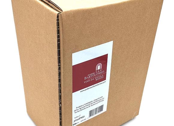 BOX 5L RED WINE Podere San Bartolomeo