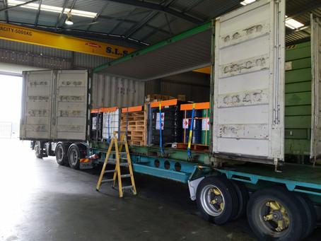 Compliant Dangerous goods loading