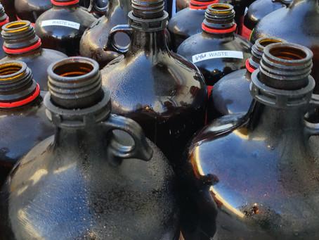 Laboratory waste chemical disposal