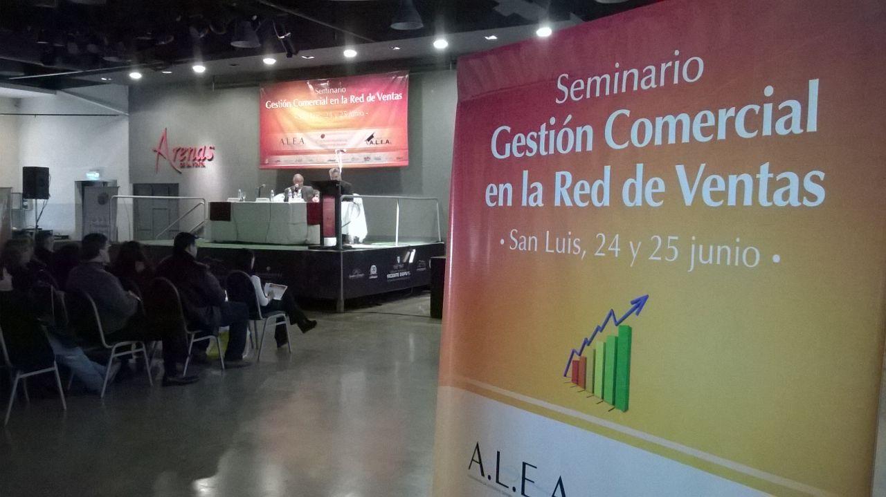 Seminario en San Luis: Gestión Comercial en la Red de Ventas.