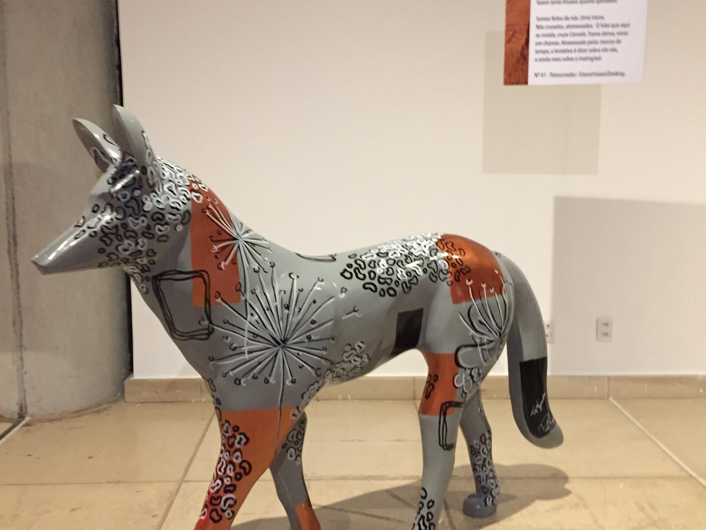 Exposição 33 anos Meire Santos - Revele o seu Lobo