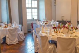 Tischdekoration mit Kerzen 2